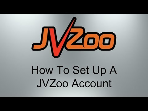 How To Set Up A JVZoo Account