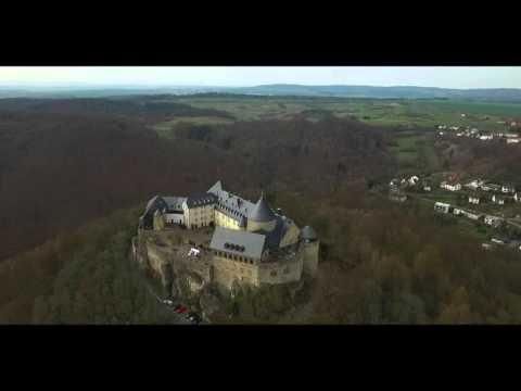 Edersee / Burg Waldeck DJI Phantom 3 Adv. & GoPro Hero4