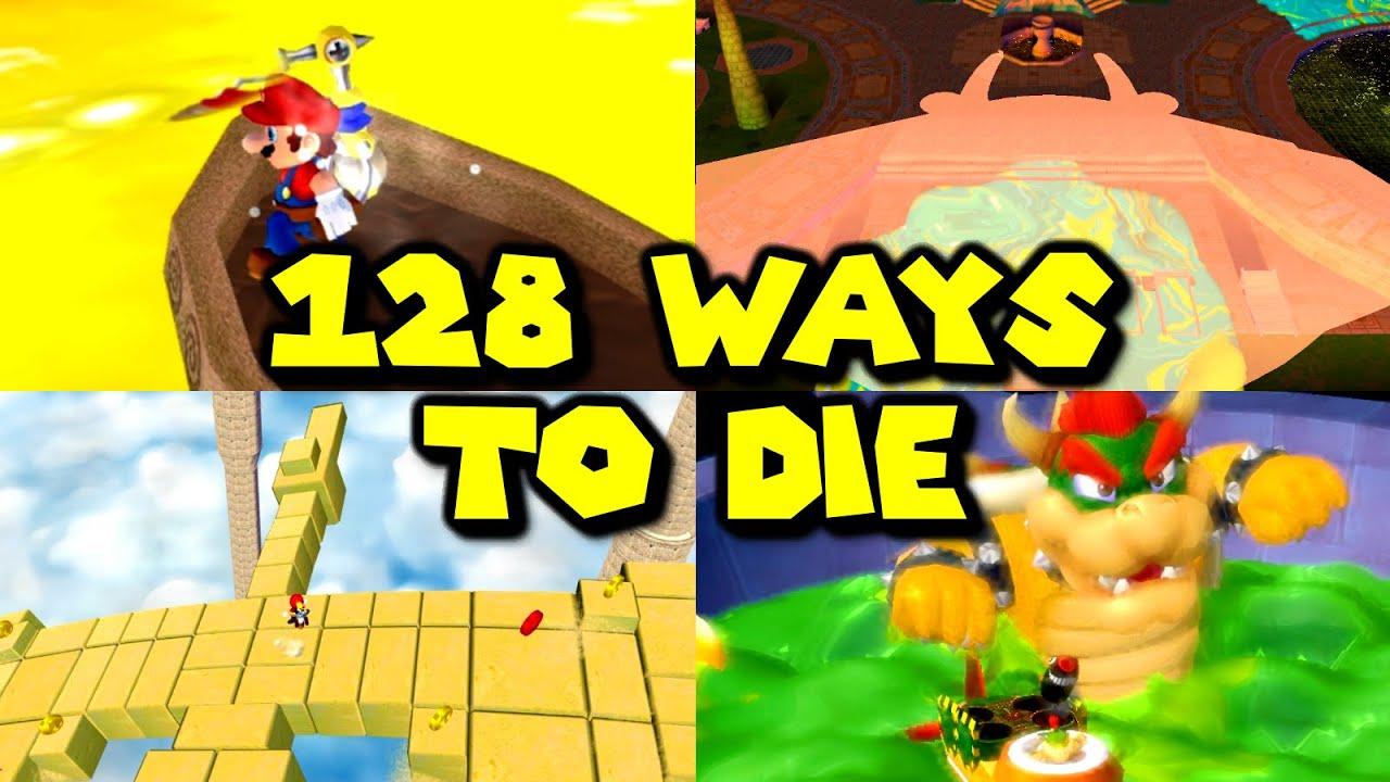 128 Ways to Die in Super Mario Sunshine