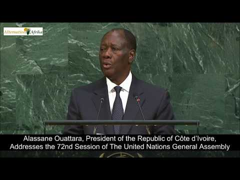 Côte d'Ivoire - President Addresses the 72nd Session Session of the United Nations General Assembly