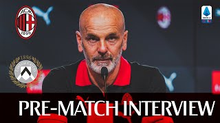 #MilanUdinese | Pre-match press conference