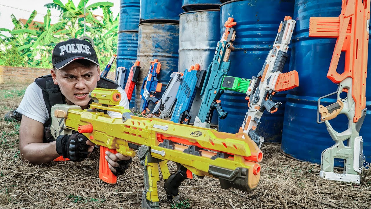 LTT Game Nerf War : Captain Warriors SEAL X Nerf Guns SQUAD Fight Rocket Crazy Destroyer Of Gangs