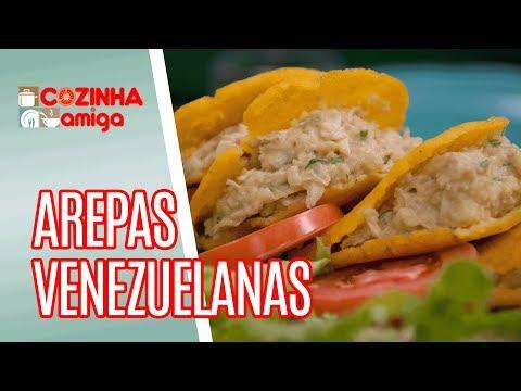 Arepas Venezuelanas - Raquel Novais | Cozinha Amiga (30/04/18)