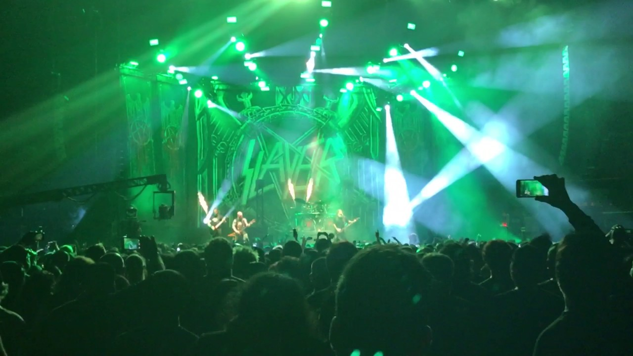 """Angel Of Death 2017 slayer """"angel of death"""" 2017 - los angeles, ca the forum"""