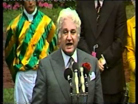 Sir John Kerr In Fine Form At The 1977 Melbourne Cup