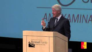 H. Lee Scott Speaker Series: President Bill Clinton (full program)