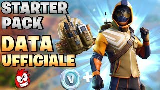DATA UFFICIALE NUOVO STARTER PACK ⛏️ Fortnite Battle Royale - Pazzox
