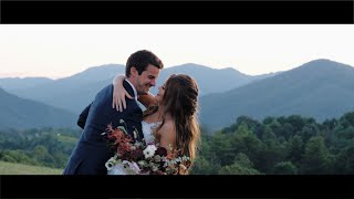 Florida Couple Escapes Dorian to Wed in NC  || The Ridge Wedding