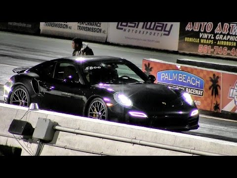 2014 porsche 991 turbo s v nissan gtr 1 4 mile drag race road test tv youtube. Black Bedroom Furniture Sets. Home Design Ideas