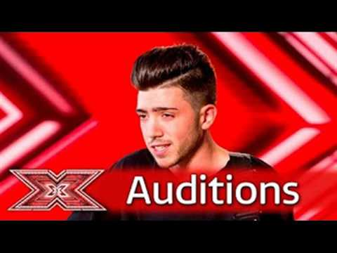 Emotions run high for Christian Burrows - Auditions Week 1 - The X Factor UK 2016 ONLY SOUND