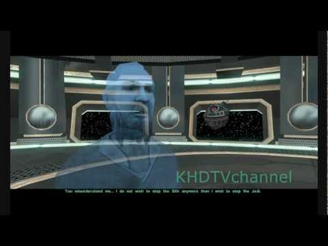Kotor 2 TSLRCM 1.8.1 Walkthrough part 20 - Goto's Yacht ( Dark Side Male )