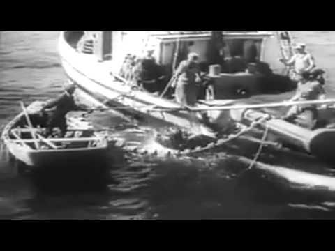 October 1945 Newsreel: USS Oriskany (CV-34); Truman Dedicates Dam; Nuremberg; Annapolis 100th (full)