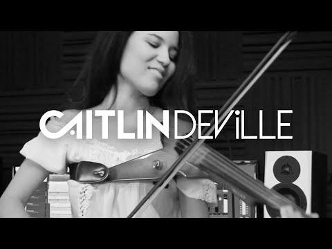 Galway Girl (Ed Sheeran) - Electric Violin Studio Cover | Caitlin De Ville
