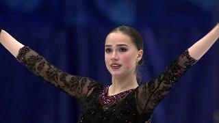 Алина Загитова. Короткая программа. Женщины. NHK Trophy. Гран-при по фигурному катанию 2019/20