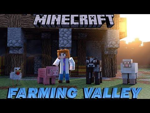   Minecraft   Farming Valley: E1 - The Start of a Village?!