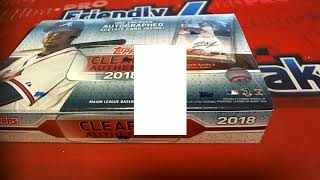 2018 Topps Clearly Authentic Baseball Box 2 Team Random Format ID 18toppsca2tr106