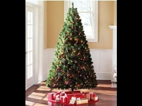 Prelit 9 Feet Artificial Christmas Tree Most Real Pre Lit 9 Ft  - Artificial Christmas Tree 9 Ft