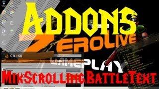 World of Warcraft : Addons - Configurar MikScrollingBattleText