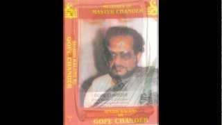 Gope Chander sings Tu Sakhi Aahin Sabajo & Nagra Nimani Da Vol. 1