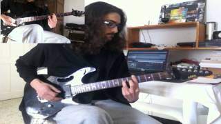 Mezarkabul ( Pentagram) - For Those Who Died Alone - Guitar Cover By M.Yassine Mankaî