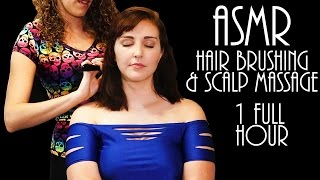 Exquisite ASMR Hair brushing & Scalp Massage 1 Hour – Sounds For Sleep
