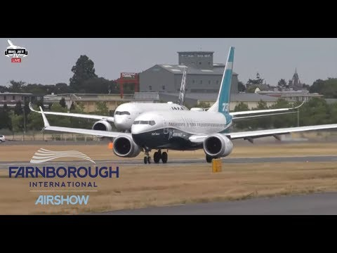 JETSTREAM #124: Farnborough Airshow 2018 LIVE!