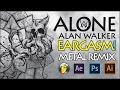 Alan Walker Alone Remix Metal Cover