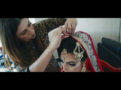 Asian Bride Getting Ready - Fun and Quirky Video