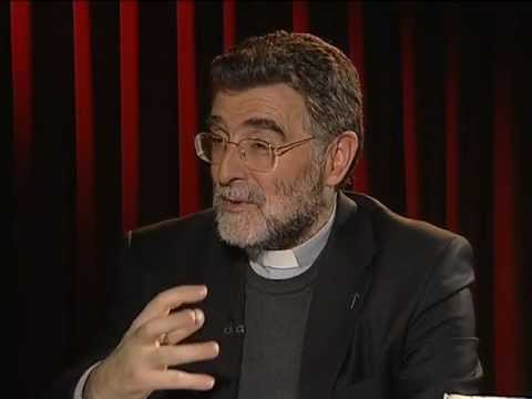 Justo Molinero con Armand Puig en el Qui és Qui? de TeleTaxi Tv