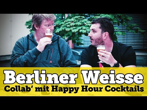 Berliner Weisse Brautag & Collab with Happy Hour Cocktails | Home brewing | Brewing beer yourself
