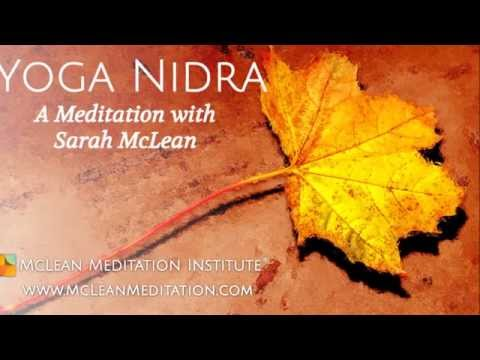 Yoga Nidra Guided by Sarah McLean