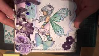 Card share magnolia and whimsy wee stamps