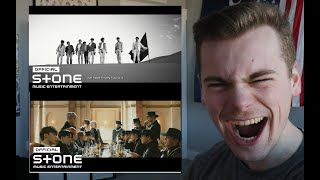 Gambar cover RAISE A GLASS (ATEEZ (에이티즈) - 'Answer' Official MV Reaction)