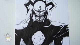 How to draw White ホワイト(Black Hollow)