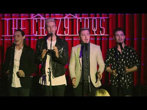 Collabro sing Why Am I Falling at Daniel and Laura Curtis Live