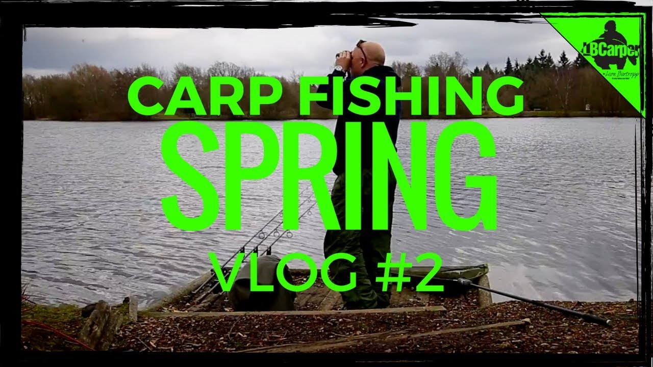 642dc7ef762 CARP FISHING IN SPRING - THE PARK LAKE VLOG  2 😀 - YouTube