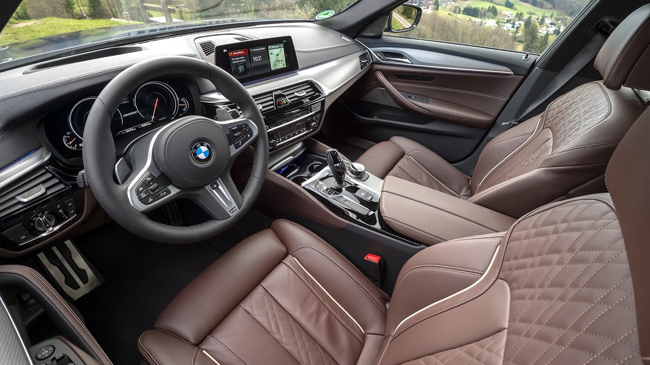 2017 Bmw M550i Xdrive Interior