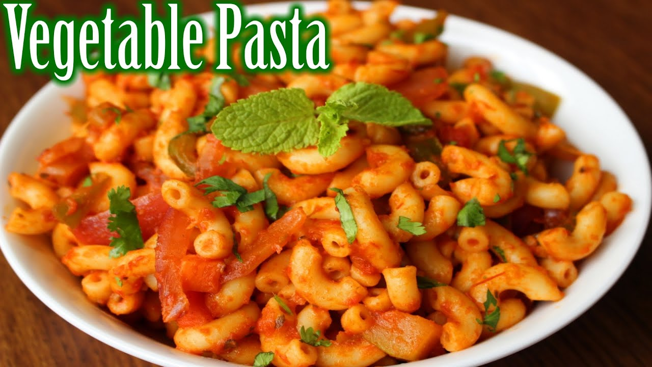 Super Easy Vegetable Pasta Recipe