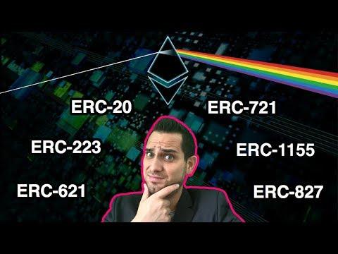 ERC-What?!? ERCs Simply Explained: ERC-20 | ERC-721 | ERC-1155 | ERC-223 | ERC-827 | ERC-621 | $ETH