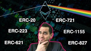 ERC-What?!? ERCs Simply Explained: ERC-20 | ERC-721 | ERC-1155 | ERC-223 | ERC-827 | ERC-621 | $ETH