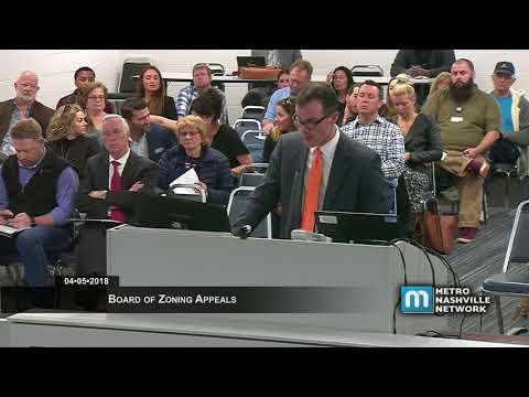 04/05/18 Zoning Appeals Board