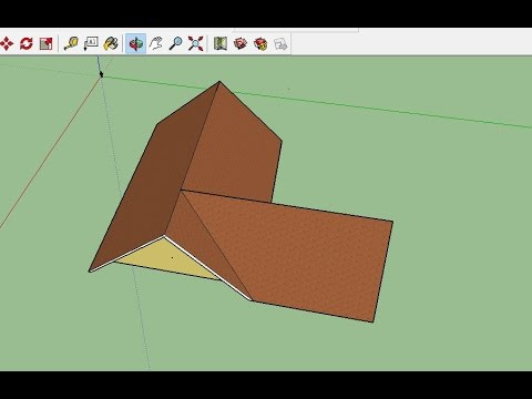 Sketchup 02 3d Roof Design Youtube