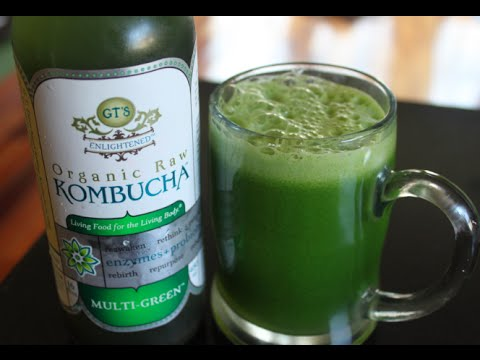 GT'S SYNERGY KOMBUCHA MULTI GREEN DRINK REVIEW | THE SHOWSTOPPER SHOWS