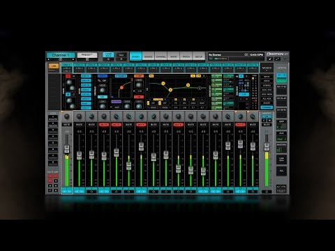 Waves eMotion LV1 Live Mixer – Quick-Start Tutorial
