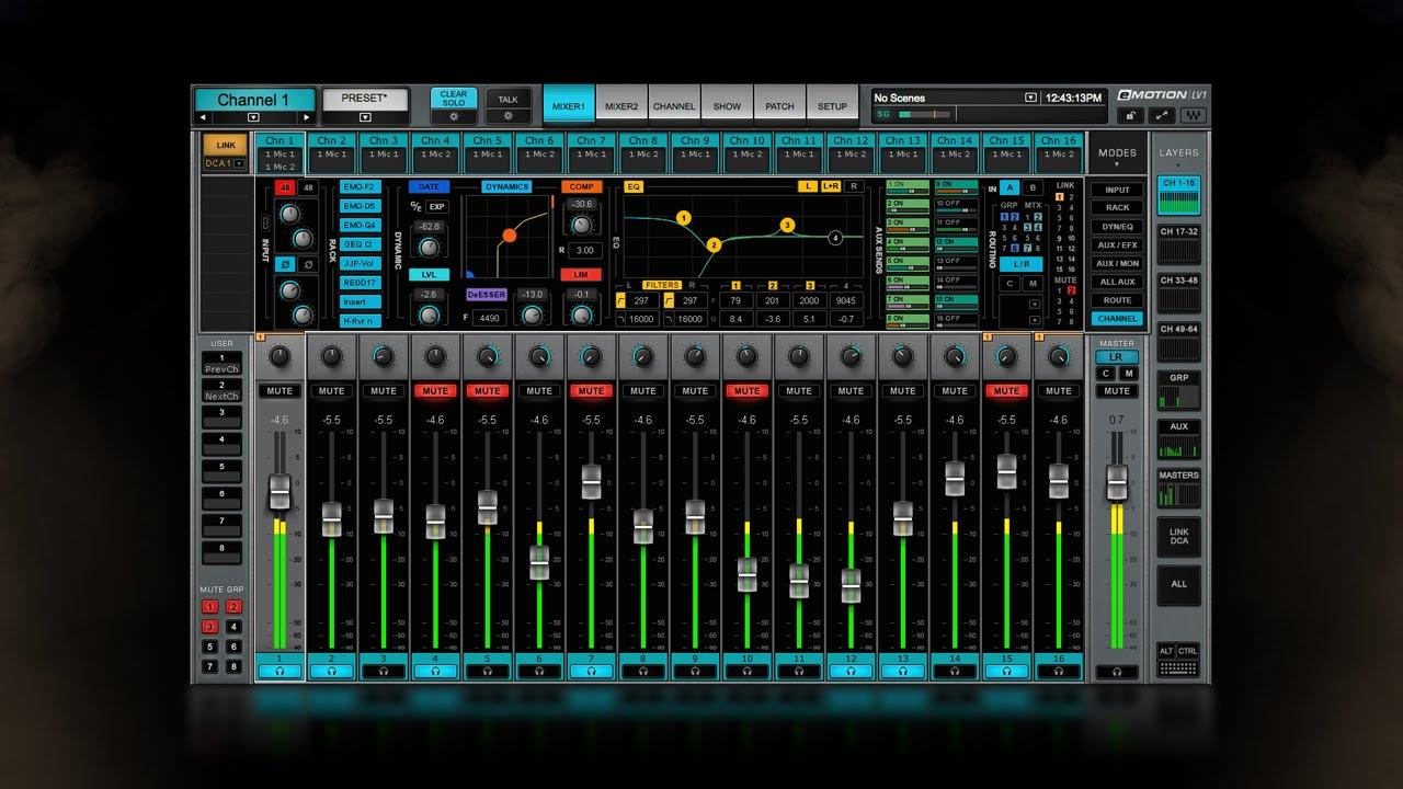 waves emotion lv1 live mixer free download