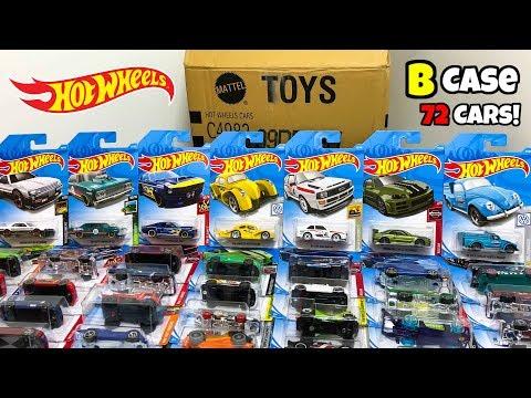 Unboxing Hot Wheels 2019 B Case 72 Car Assortment!