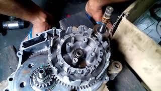 yamaha lagenda SRL110 engine assembly 5