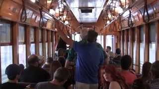 "Have Gun, Will Travel - ""Standing at the End of the World"" on The TECO Line Streetcar!"