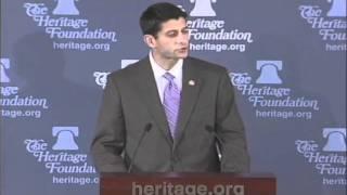 Paul Ryan on The True Source of Inequity in America