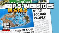 GTA 5 Online: TOP 5 INTERNET SEITEN - Tote Kinder, Tsunami & Mehr ! | Deutsch